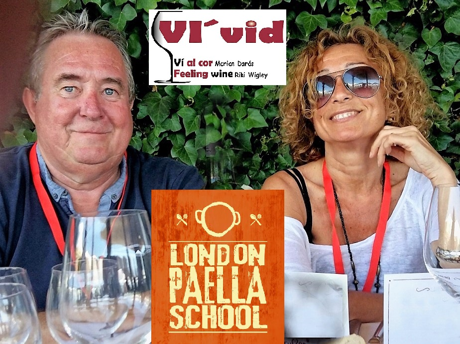 VÍ Vid, the London Paella School and a Masterclass in Seafood PaellaCookery.