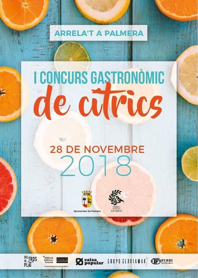 1er Concurso Gastronómico de Citricos: VÍ Vid reports fromPalmera.