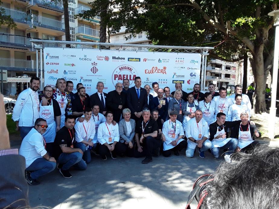 4º Concurso de Paella de Cullera; VÍ Vid reports on Salvador Gascon´slegacy.