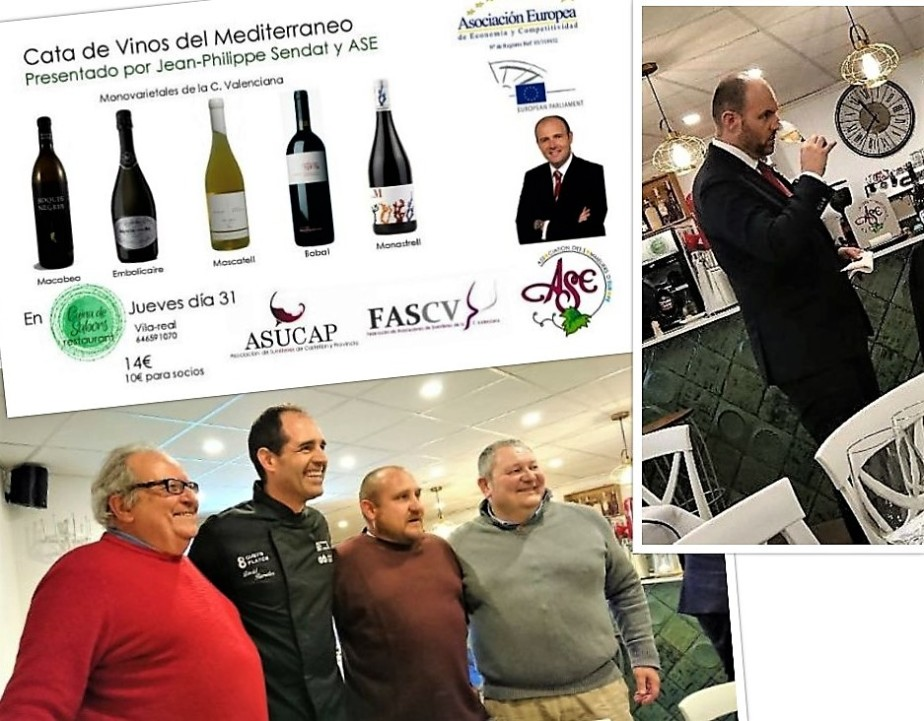 European Sumiller's Ambassador Visits Valencia, VÍ Vid Reports on the Tasting.